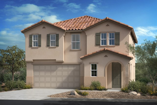 New Homes in Ontario Ranch, CA - Spanish 'A'