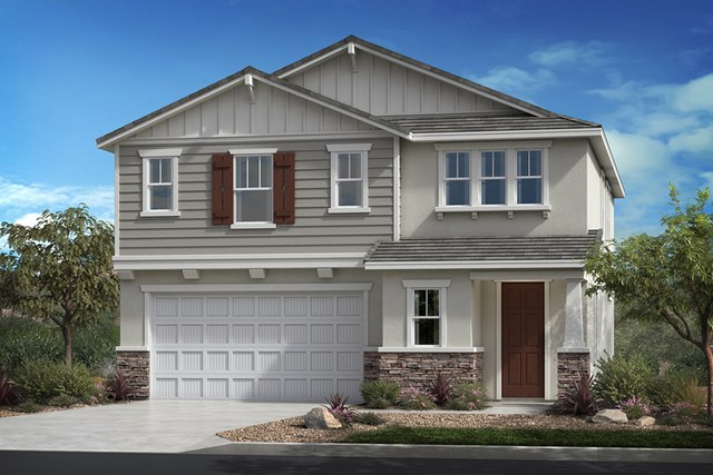 New Homes in Ontario Ranch, CA - Tuscan 'B'
