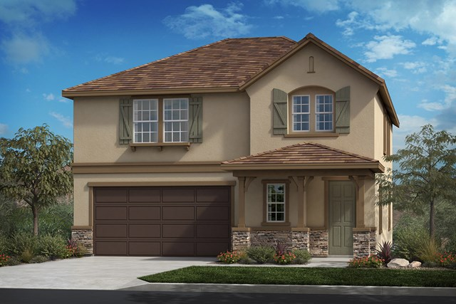 New Homes in Ontario Ranch, CA - French 'C'