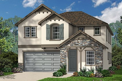 "New Homes in Ontario Ranch, CA - French ""C"""