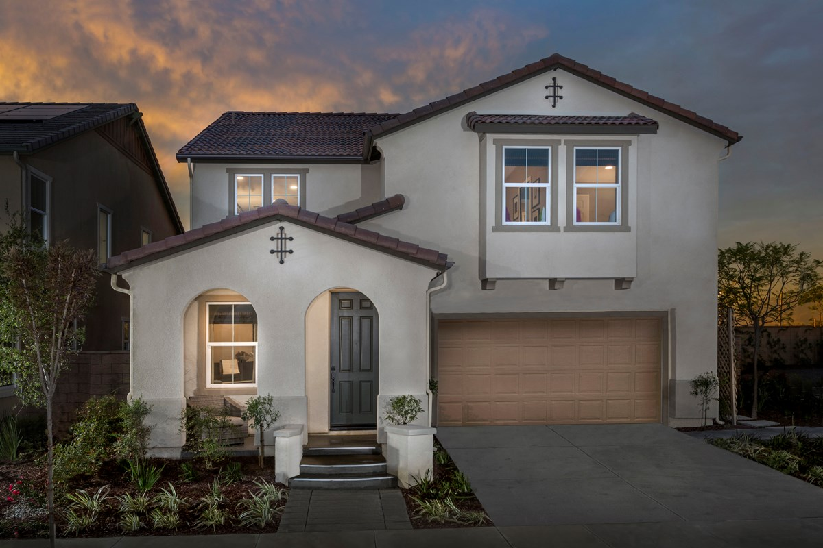 New Homes in Ontario Ranch, CA - Margate at Park Place Residence One