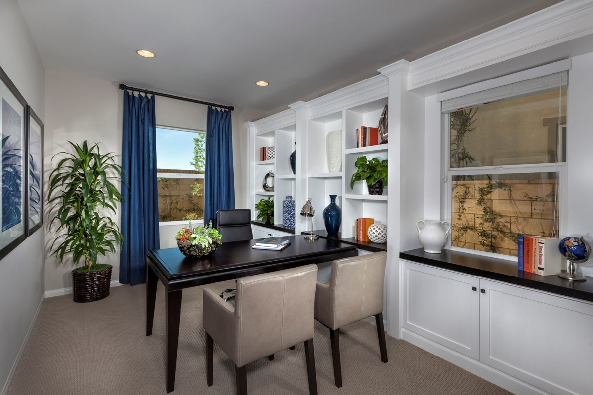 New Homes in Ontario Ranch, CA - Margate at Park Place Residence Two - Den