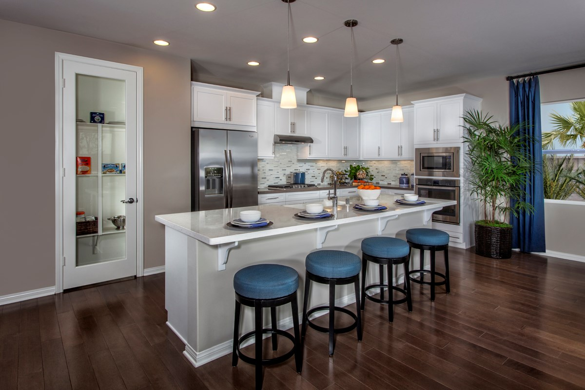 New Homes in Ontario Ranch, CA - Margate at Park Place Residence Two - Kitchen