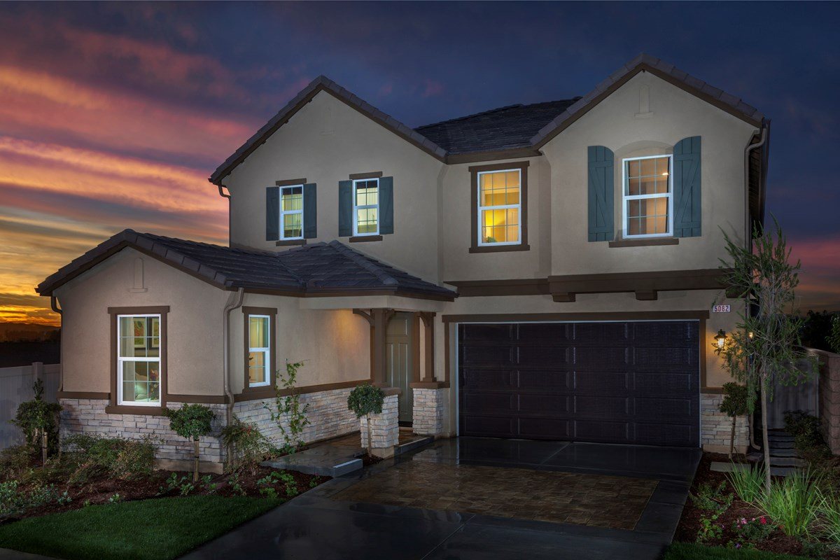 New Homes in Ontario Ranch, CA - Margate at Park Place Residence Three
