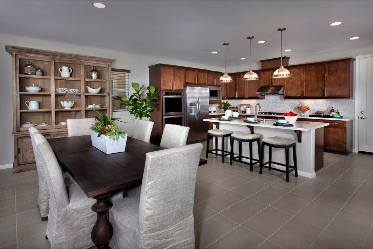 New Homes in Ontario Ranch, CA - Margate at Park Place Residence Three - Kitchen