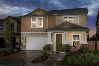 "New Homes in Ontario Ranch, CA - Tuscan ""B"""