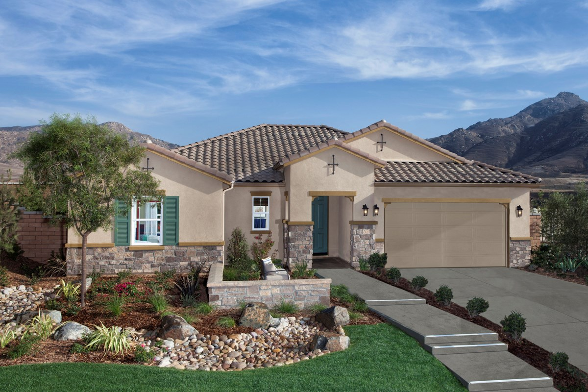 Residence one new home floor plan in mission gate at for Riverside house plans
