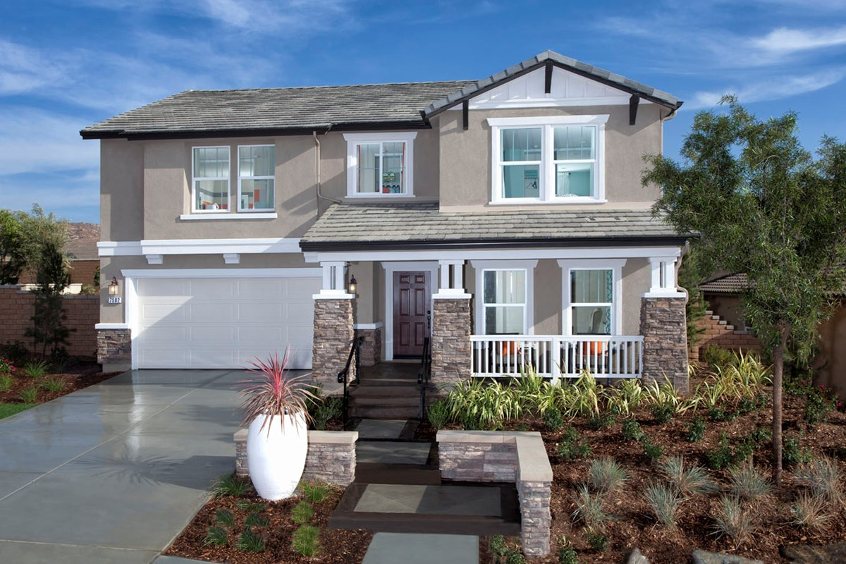 New Homes in Riverside, CA - Mission Gate at Spring Mountain Ranch Residence Four