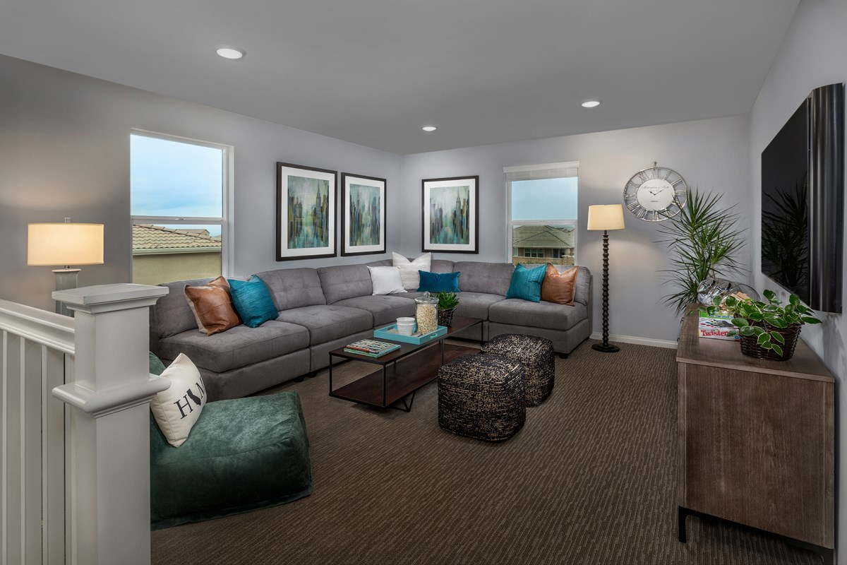 New Homes in Riverside, CA - Monterey at Spring Mountain Ranch Residence Five - Loft