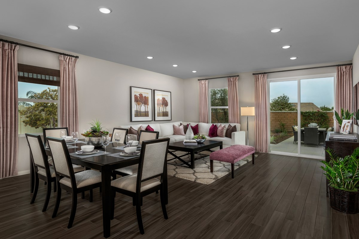 New Homes in Riverside, CA - Monterey at Spring Mountain Ranch Residence Three - Great Room