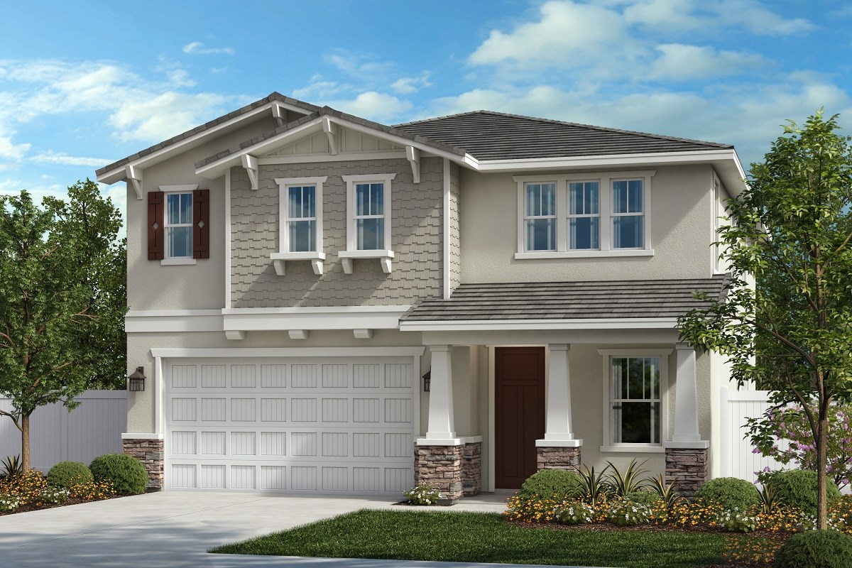 New Homes in Ontario Ranch, CA - Northpark Residence Three - Craftsman 'B'
