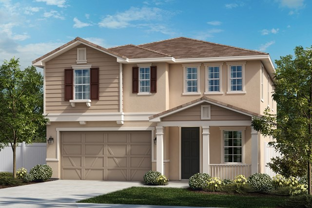 New Homes in Ontario Ranch, CA - Traditional 'C'
