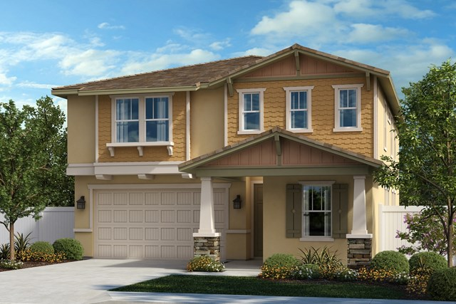 New Homes in Ontario, CA - Craftsman 'B'