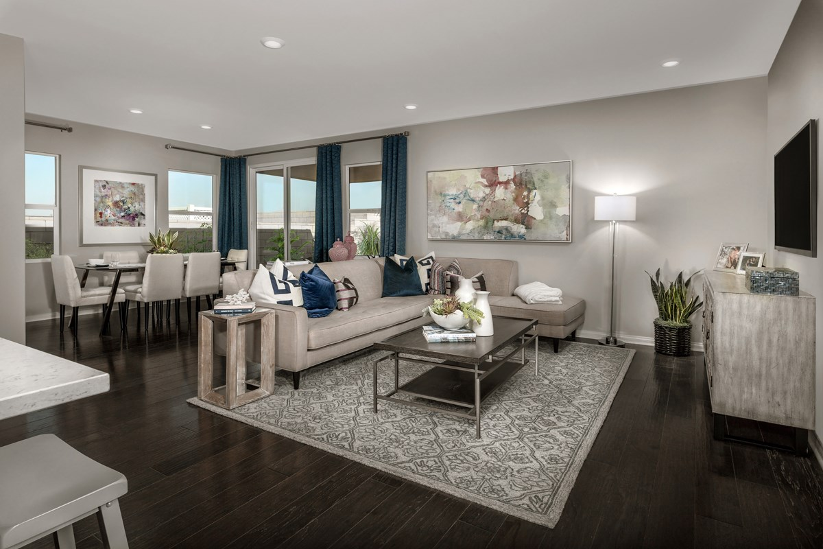 New Homes in Ontario Ranch, CA - Northpark Residence One - Great Room