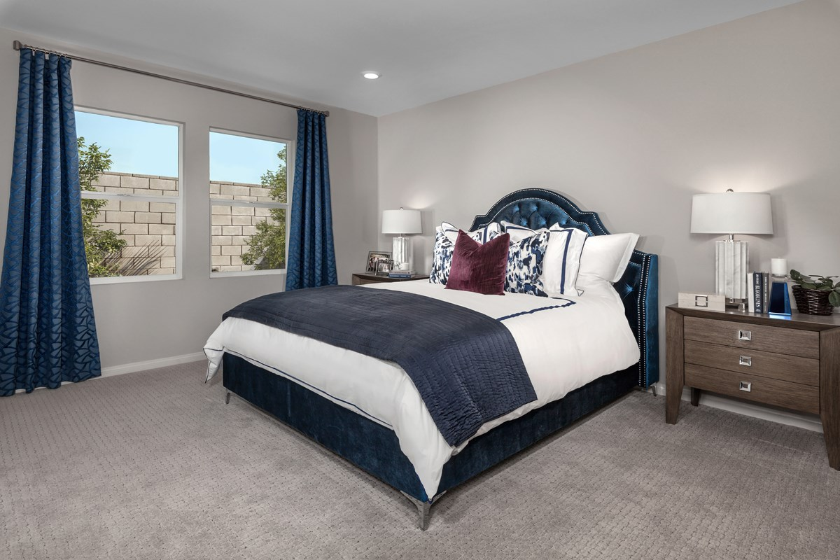 New Homes in Ontario Ranch, CA - Northpark Residence One - Master Bedroom