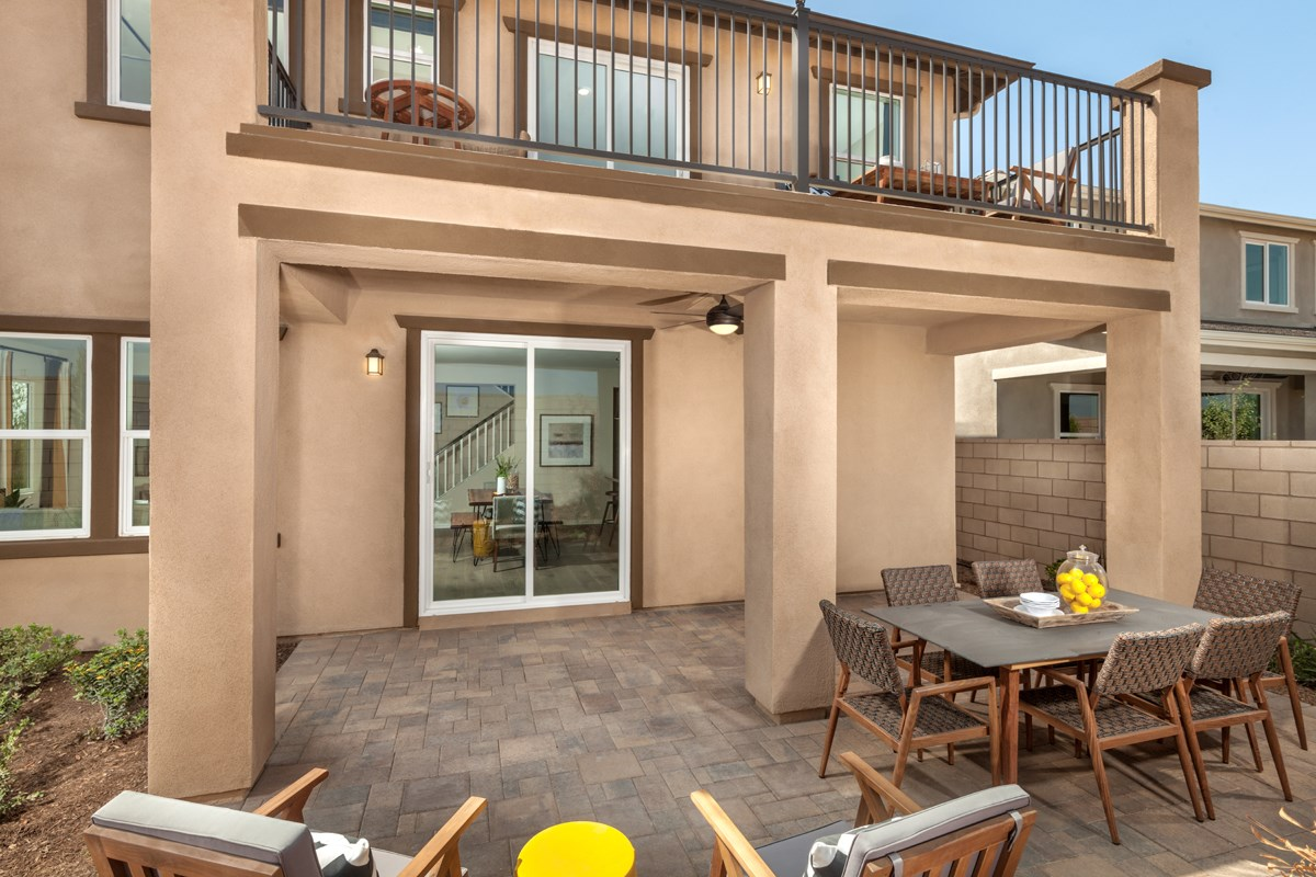 New Homes in Ontario Ranch, CA - Northpark Residence 2886 - Patio