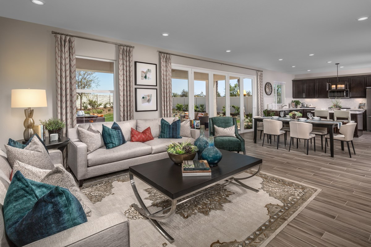 New Homes in Menifee, CA - Peppertree at Hidden Hills Residence 2544 - Great Room
