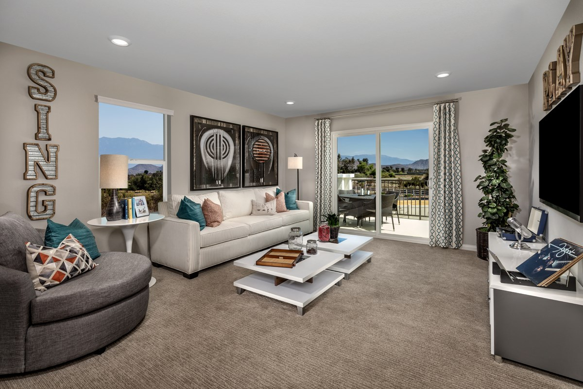 New Homes in Menifee, CA - Peppertree at Hidden Hills Residence 2544 - Loft