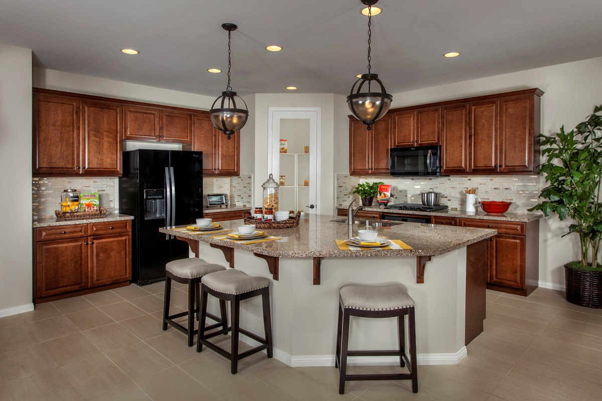 New Homes in Riverside, CA - Presidio Point at Spring Mountain Ranch Residence Two Kitchen
