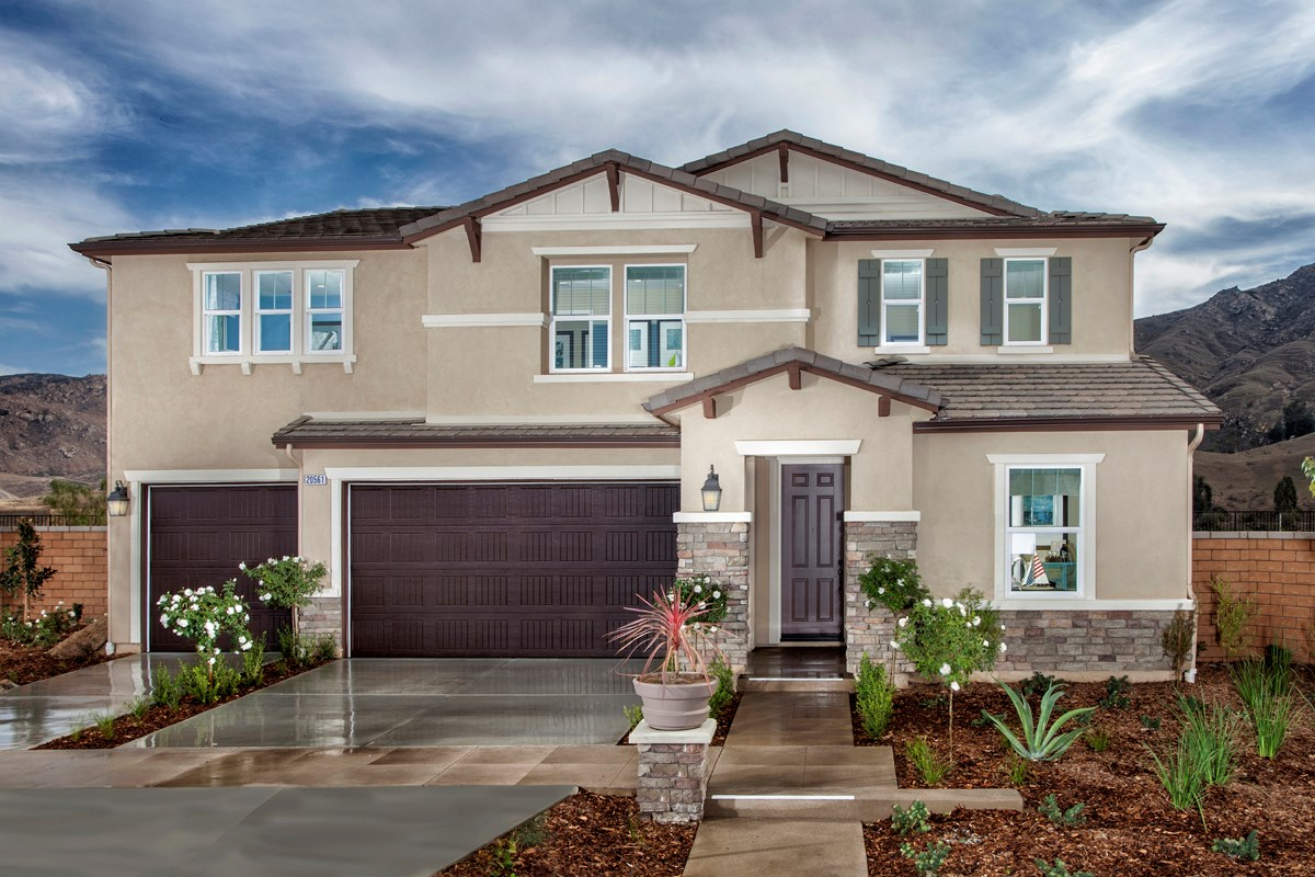 New Homes in Riverside, CA - Presidio Point at Spring Mountain Ranch Residence Three