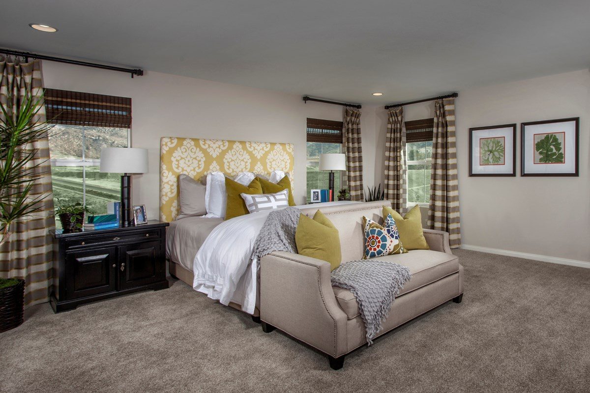 New Homes in Riverside, CA - Presidio Point at Spring Mountain Ranch Residence Four Master Bedroom
