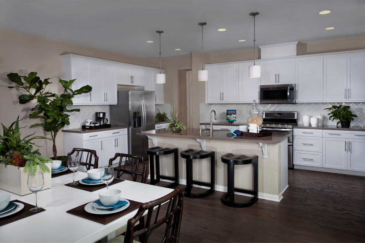 New Homes in Riverside, CA - Presidio Point at Spring Mountain Ranch Residence Three Kitchen