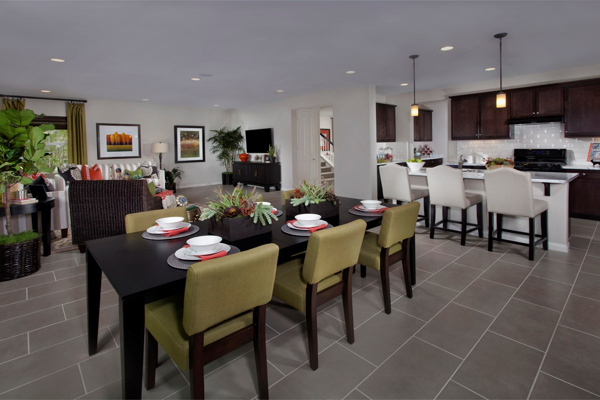New Homes in Riverside, CA - Presidio Point at Spring Mountain Ranch Residence Four Great Room