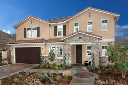 New Homes in Riverside, CA - Tuscan 'B'