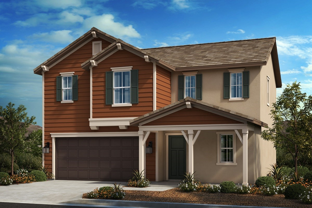 New Homes in Riverside, CA - Primrose Residence One - Farmhouse 'B'