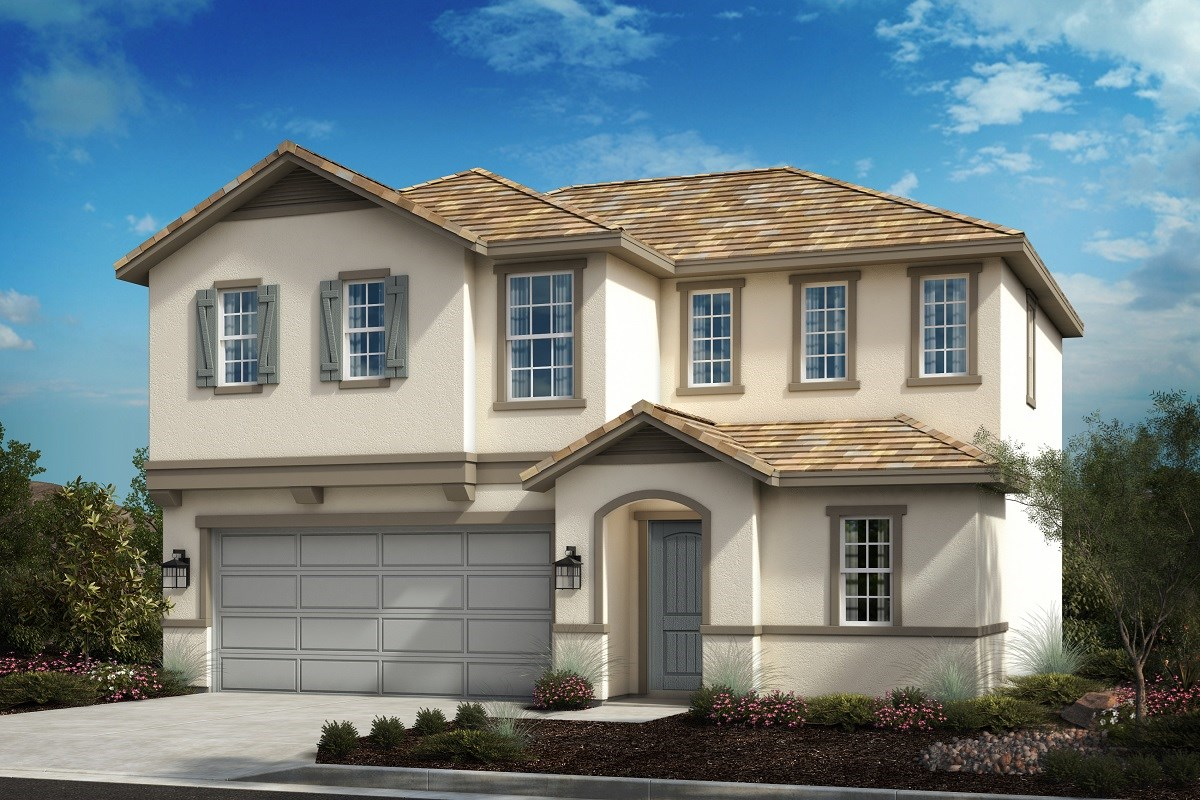 New Homes in Riverside, CA - Primrose Residence One - French Country 'C'