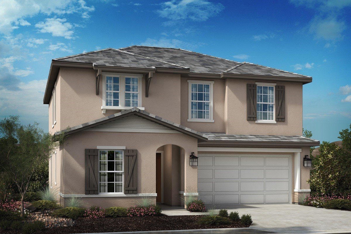 New Homes in Riverside, CA - Primrose Residence Two - French Country 'C'
