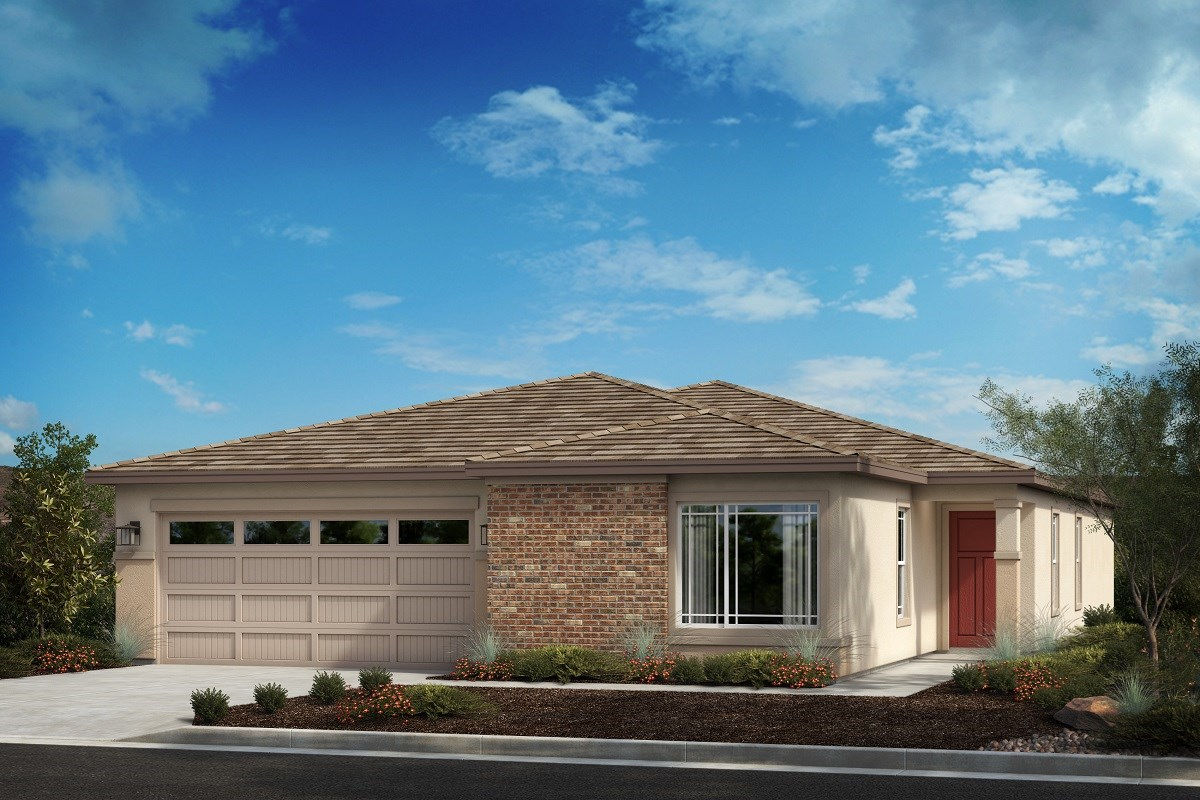 New Homes in Menifee, CA - Salerno at Shadow Mountain Residence Four - Transitional Prairie 'C'