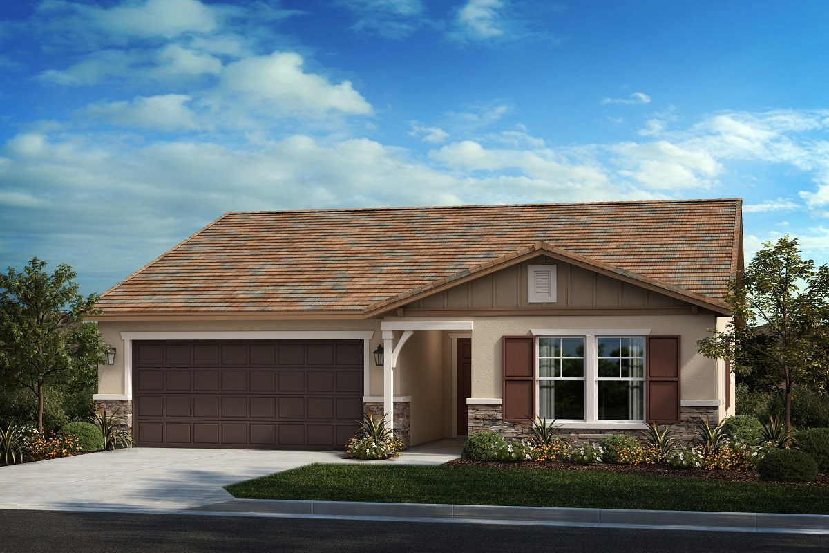 New Homes in Menifee, CA - Salerno at Shadow Mountain Residence One - Ranch 'B'
