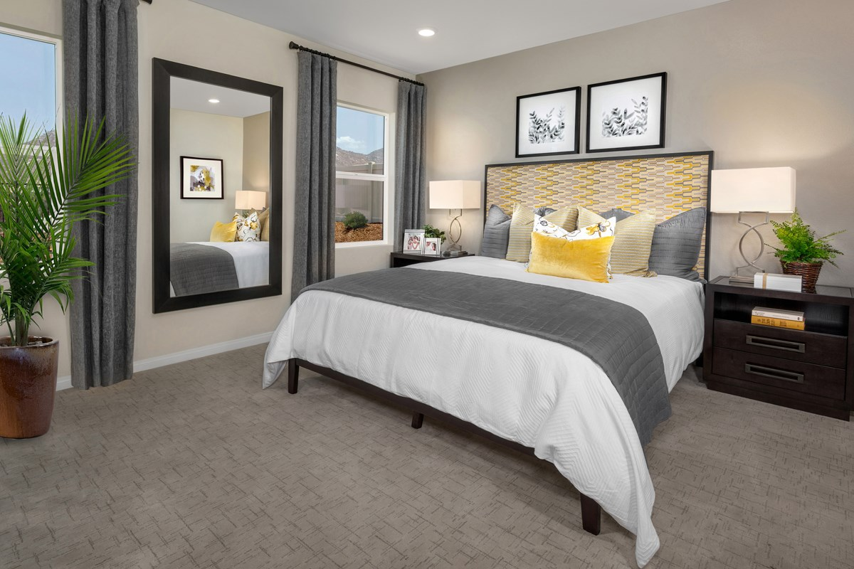 New Homes in Riverside, CA - Santa Barbara at Spring Mountain Ranch Residence Nine - Master Bedroom