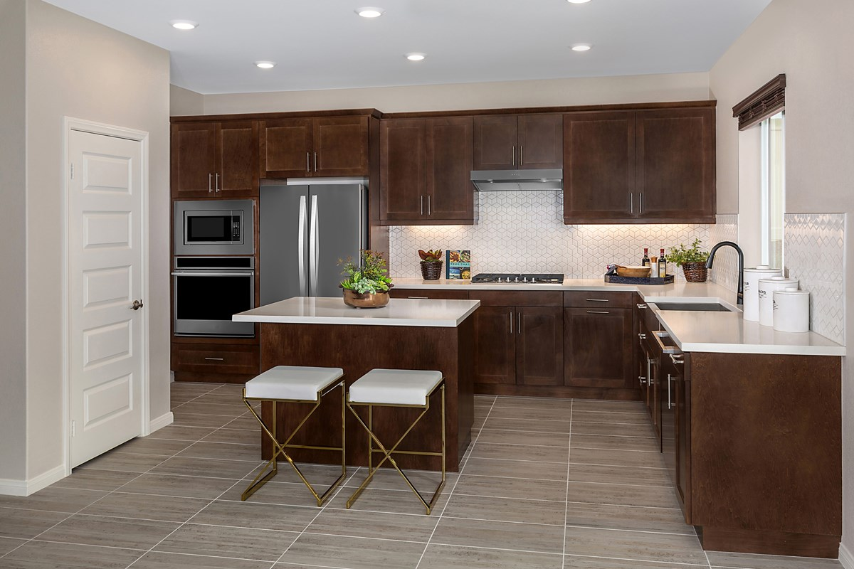 New Homes in Riverside, CA - Santa Barbara at Spring Mountain Ranch Residence Fourteen - Kitchen