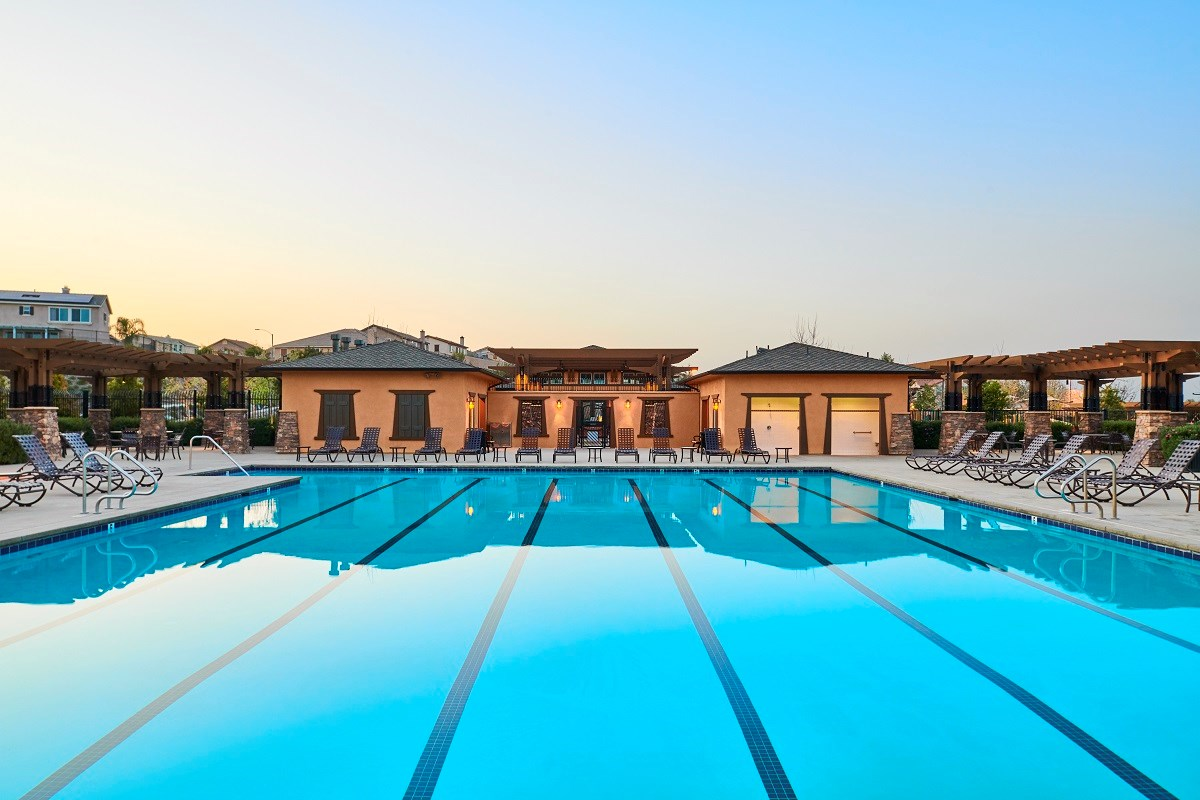 New Homes in Murrieta, CA - Santolina at Spencer's Crossing The Club - Pool
