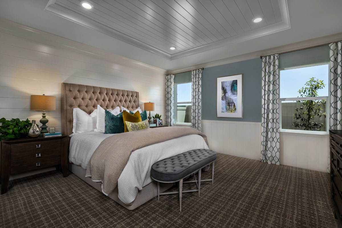 New Homes in Murrieta, CA - Santolina at Spencer's Crossing Residence 2358 Master Bedroom