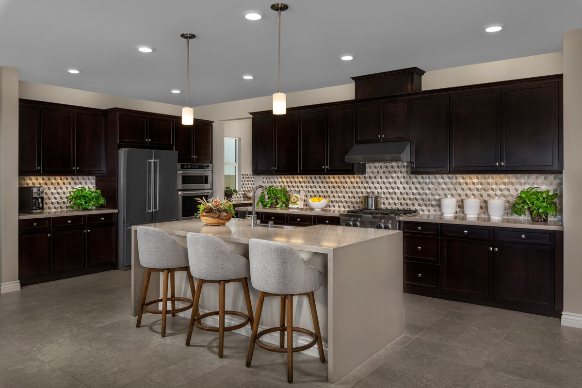 New Homes in Murrieta, CA - Santolina at Spencer's Crossing Residence 2708 Kitchen