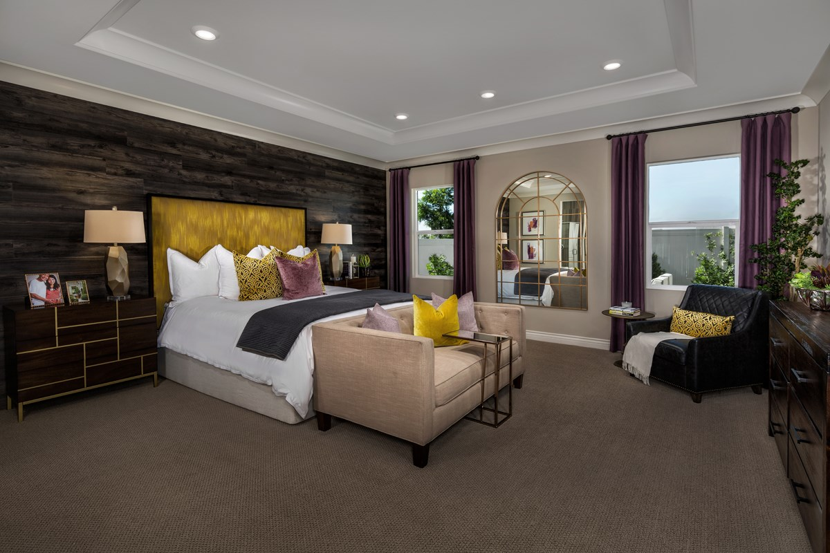 New Homes in Murrieta, CA - Santolina at Spencer's Crossing Residence 2708 Master Bedroom