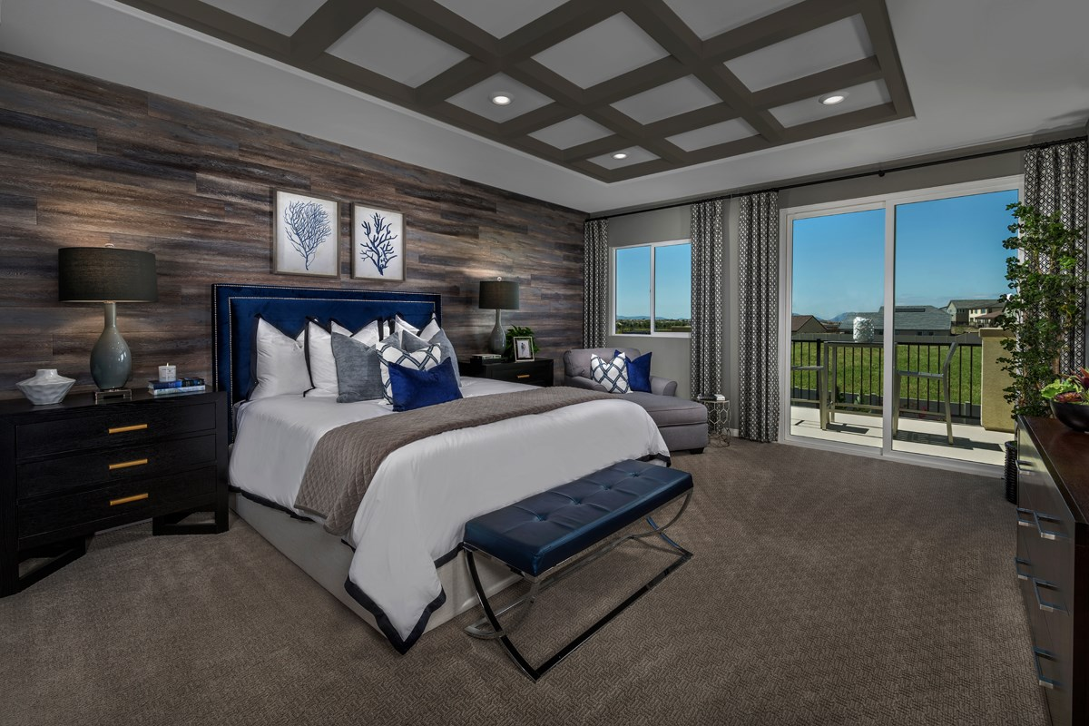 New Homes in Murrieta, CA - Santolina at Spencer's Crossing Residence 3368 Master Bedroom