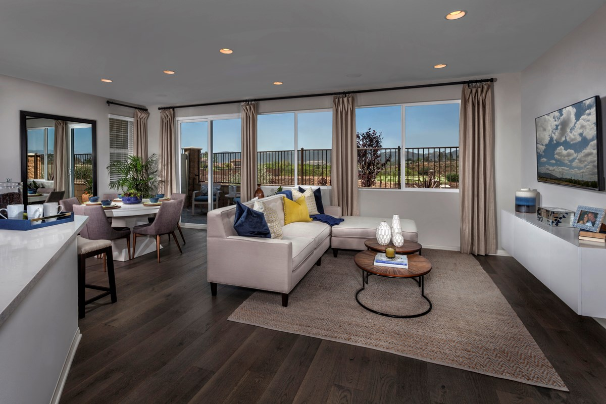 New Homes in Murrieta, CA - Seneca Residence One Great Room