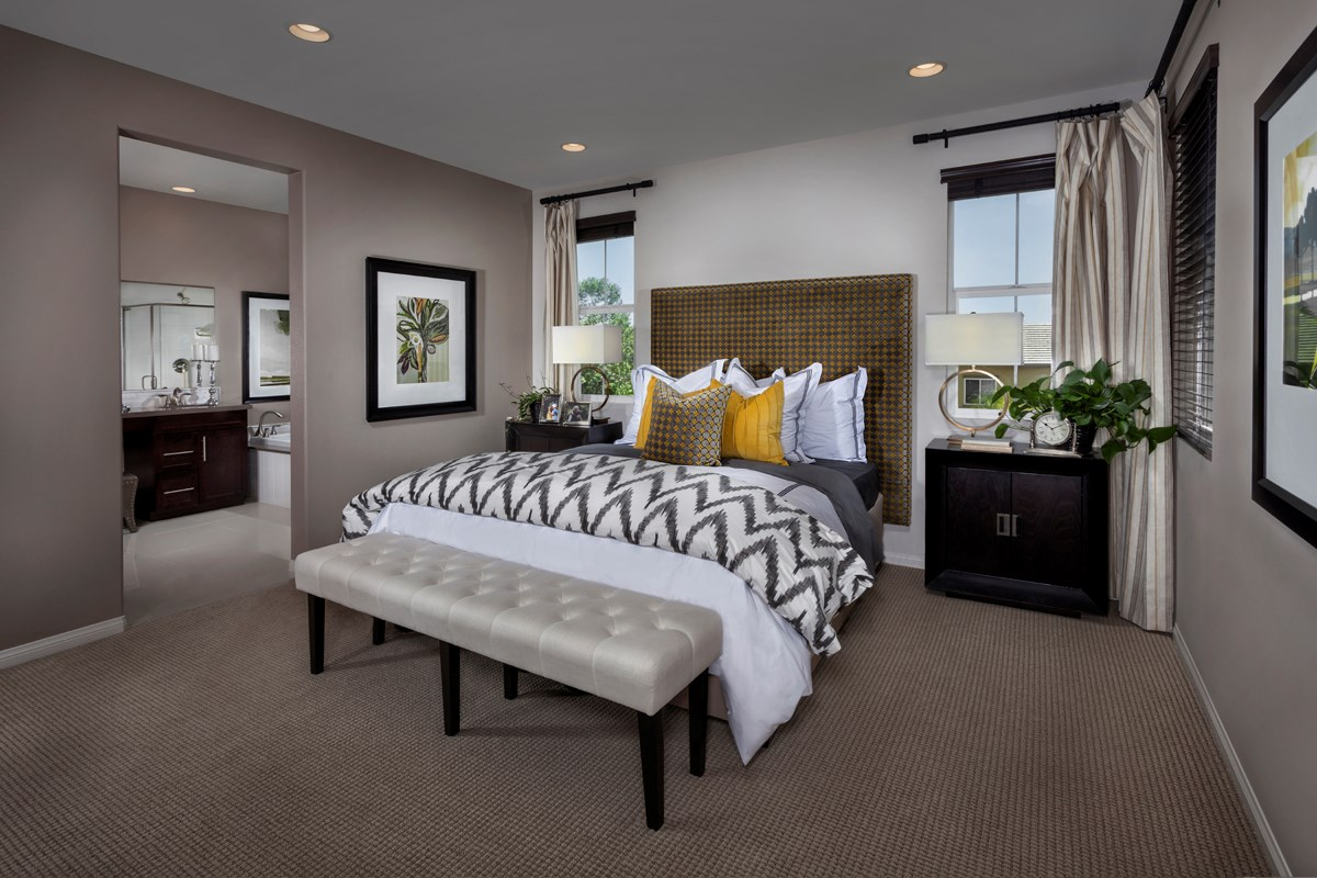 New Homes in Murrieta, CA - Seneca Residence Three Master Bedroom