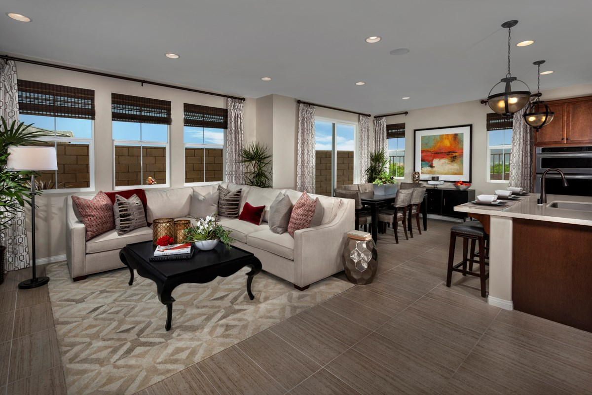 New Homes in Murrieta, CA - Seneca Residence Four Great Room