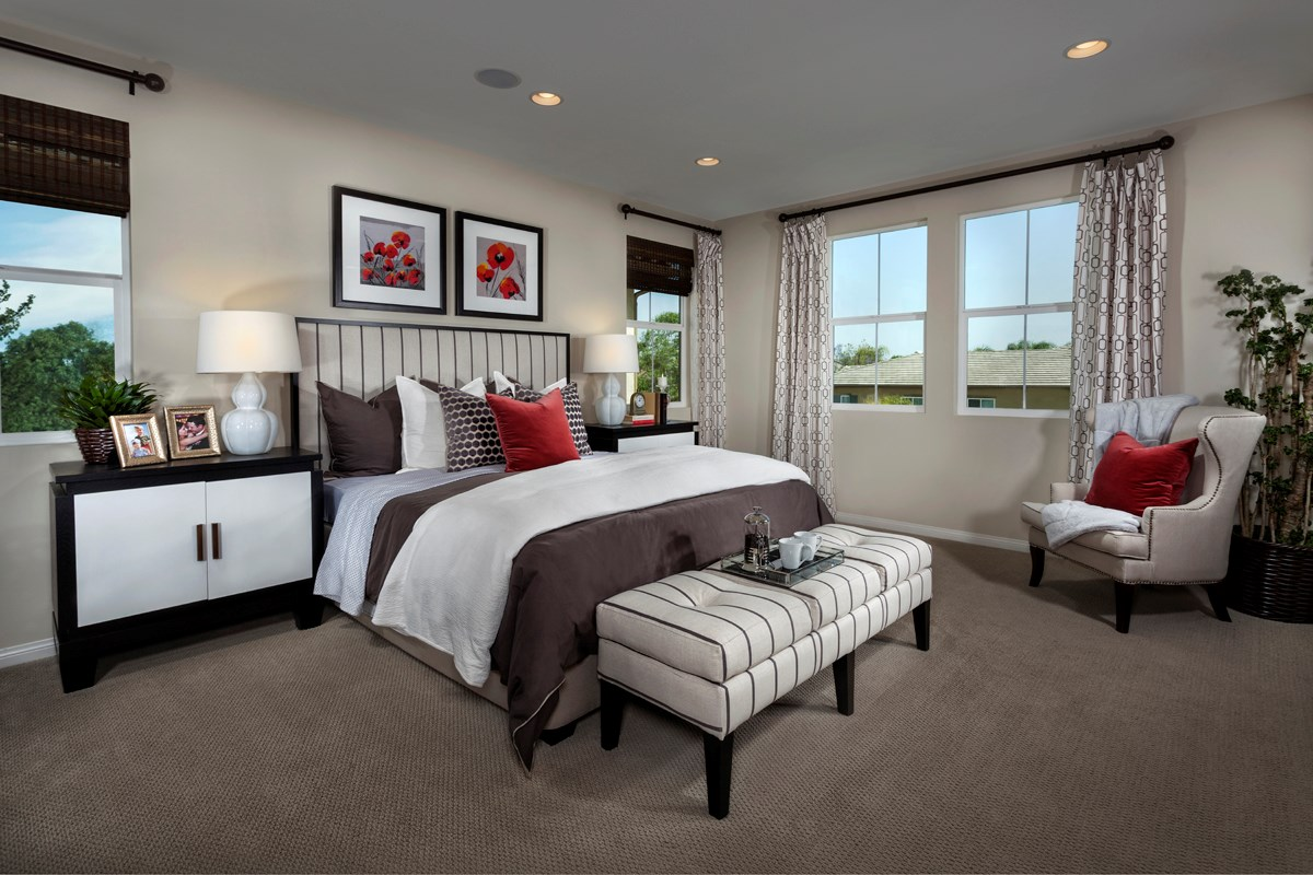 New Homes in Murrieta, CA - Seneca Residence Four Master Bedroom