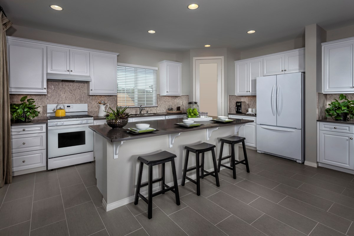 New Homes in Menifee, CA - Silvercreek at Audie Murphy Ranch Residence 1698 Kitchen