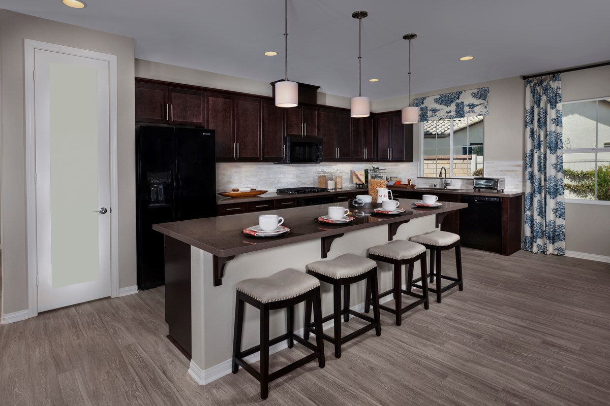 New Homes in Menifee, CA - Silvercreek at Audie Murphy Ranch Residence 1860 Kitchen