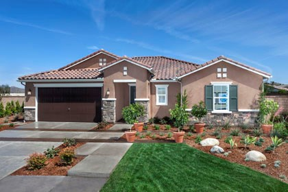 New Homes in Menifee, CA - Tuscan 'D'