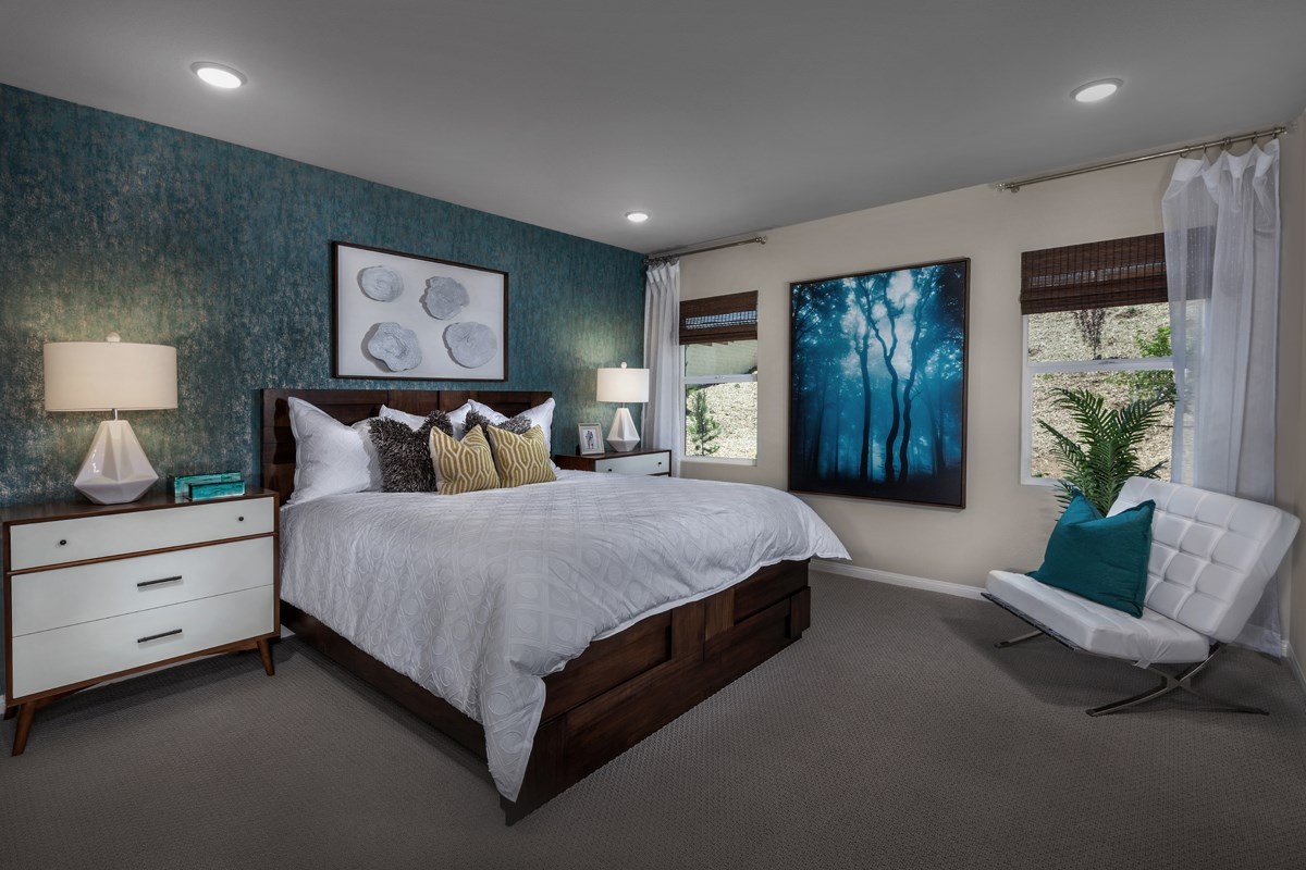 New Homes in Lake Elsinore, CA - Skypointe at Alberhill Ranch Residence 1860 - Master Bedroom