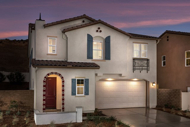 New Homes in Temescal Valley, CA - Spanish 'A'