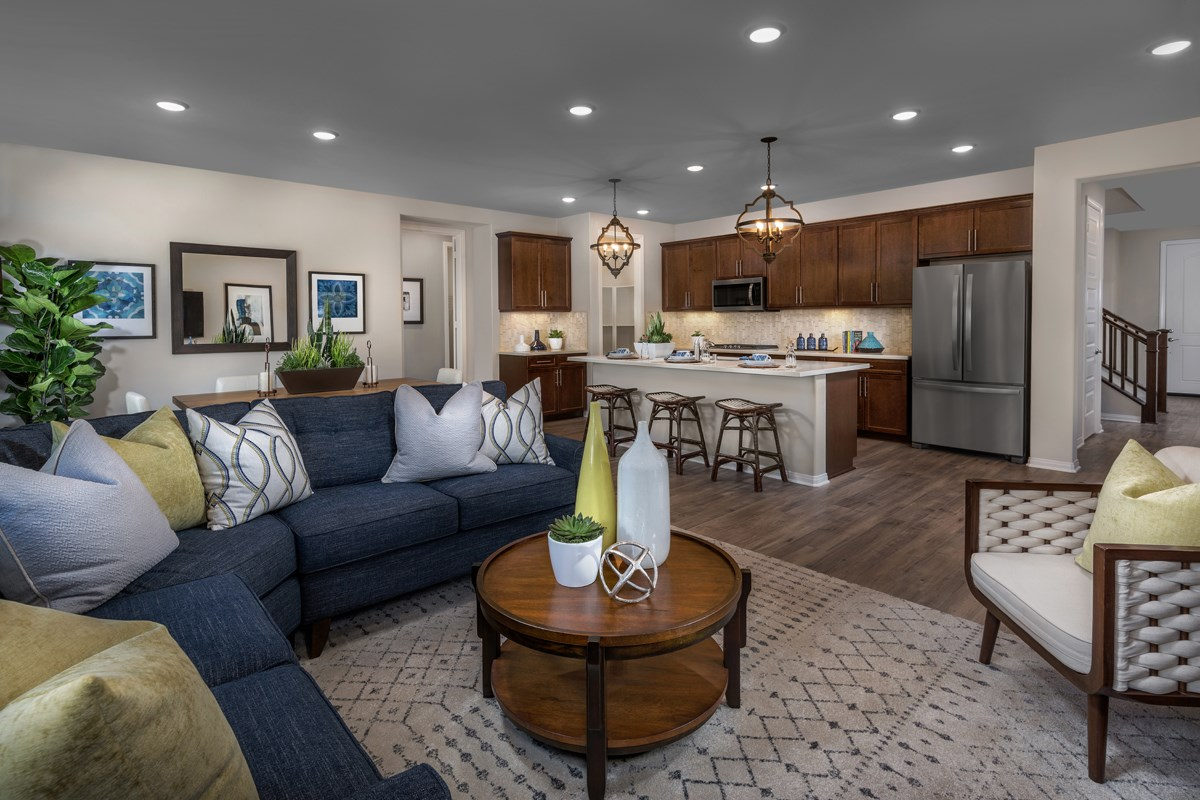 New Homes in Temescal Valley, CA - Sorrel at Terramor Residence Five - Great Room